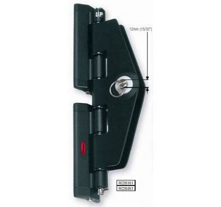 Ronstan-RC28461-Serie 8 BallScorrevole Headboard Car, 290mm x 51mm-20