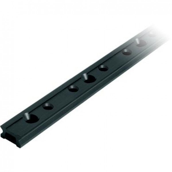 Ronstan-RC1190-1.0-Serie 19 Track, Black, 1000 mm M5 CSK fastener holes. Pitch=100-30