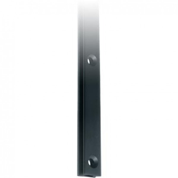 Ronstan-RC1221-2.0-Serie 22 Mast Track, Black, 2025mm M6 CSK fastener holes. Pitch=-30