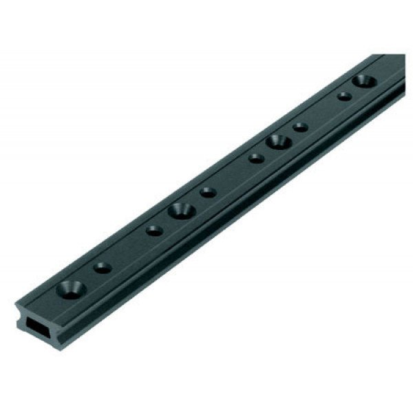 Ronstan-RC1260-1.0-Serie 26 Track, Black, 996 mm M6 CSK fastener holes. Pitch=100mm-30