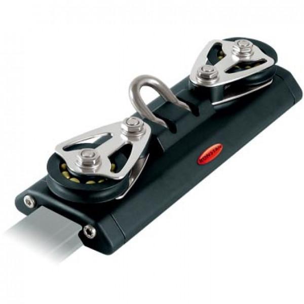 Ronstan-RC13012-Serie 30 Carrello 225mm, Shackle, 2 Control pulegge-30
