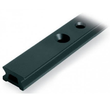 Ronstan-RC1220-2.0-Serie 22 Track, Black, 1996 mm M6 CSK fastener holes. Pitch=100m-20