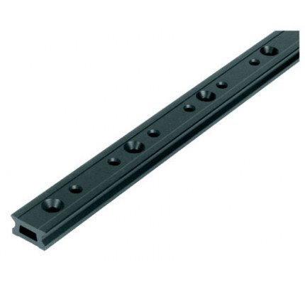 Ronstan-RC1260-2.0-Serie 26 Track, Black, 1996 mm M6 CSK fastener holes. Pitch=100m-20