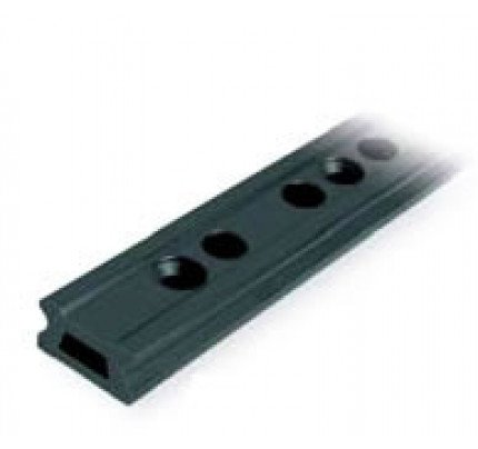 Ronstan-RC1420-2.0-Serie 42 Track, Black, 1996 mm M10 CSK fastener holes. Pitch=100-20