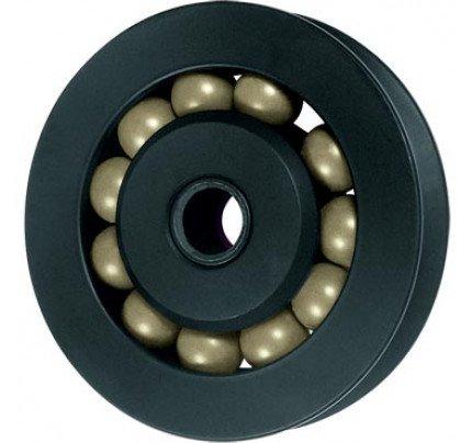 Ronstan-RF44000-Puleggia diametro 40mm, scotta massima 6mm, con rulli a sfere Torlon®-20