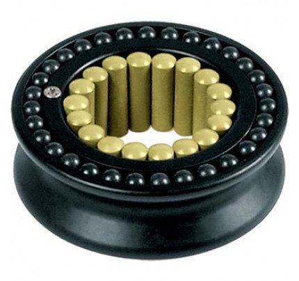 Ronstan-RF69000-Puleggia diametro 60mm, scotta massima 12mm, in lega con cuscinetto a sfere e rulli Torlon®-20