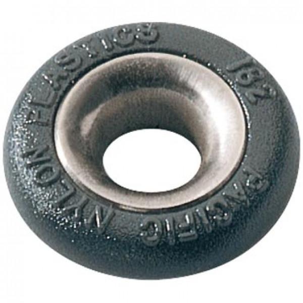 Ronstan-PNP182-Boccola tonda in nylon Ø7mm H5mm con profilo acciaio inox-30