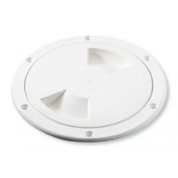 Ronstan-PNP96 Tappo dispezione Ø 112mm, foro Ø 102mm, colore bianco-31