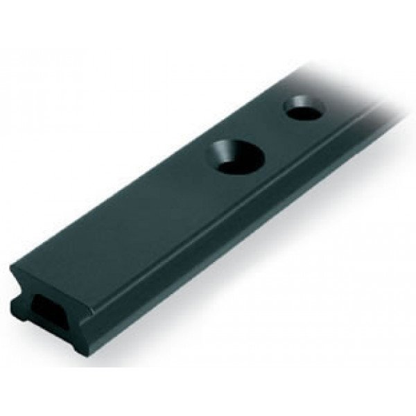 Ronstan-RC1220-2.0-Serie 22 Track, Black, 1996 mm M6 CSK fastener holes. Pitch=100m-30